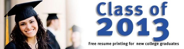 Cartridge World Bloomingdale, Donwers Grove and Wheaton will print 25 free resume copies for recent college graduates.